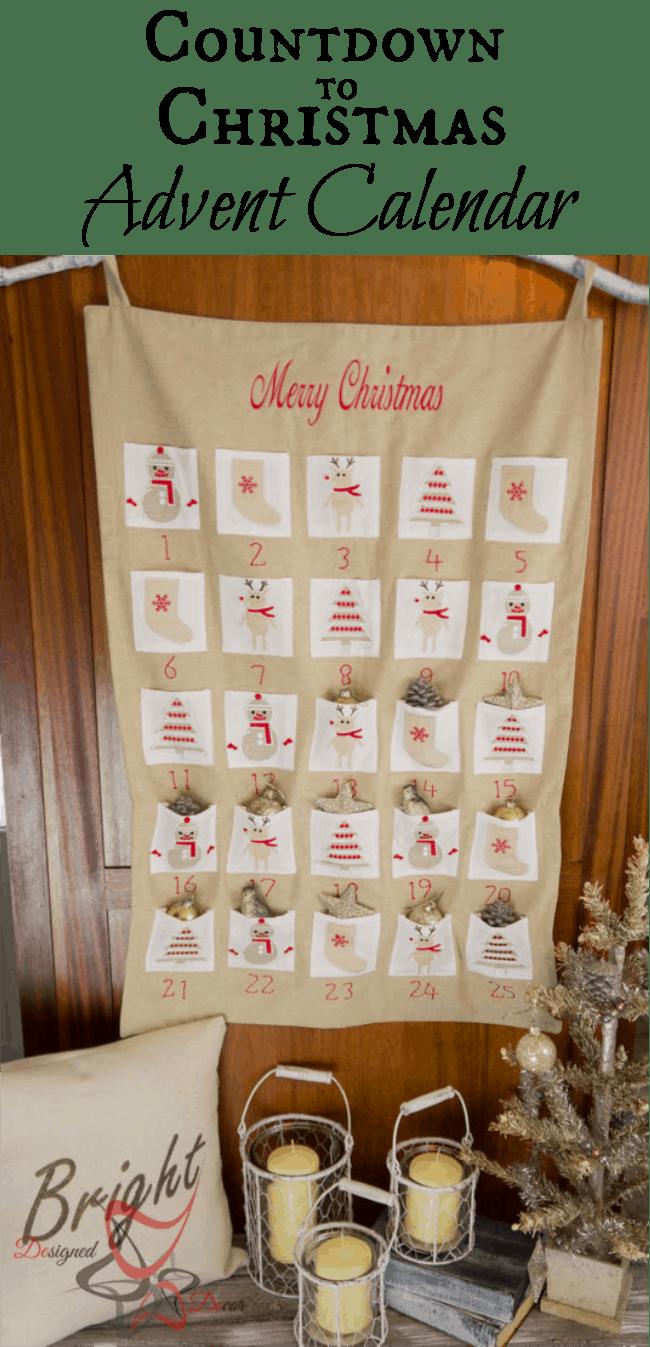 Countdown to Christmas-Advent-Calendar