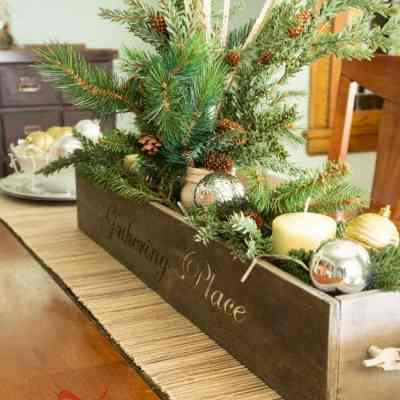 Christmas Centerpiece on a Budget!
