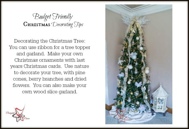 Decorating the Christmas Tree on a Budget tips