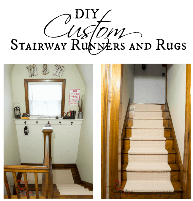 DIY Custom Stairway Runners and Rugs