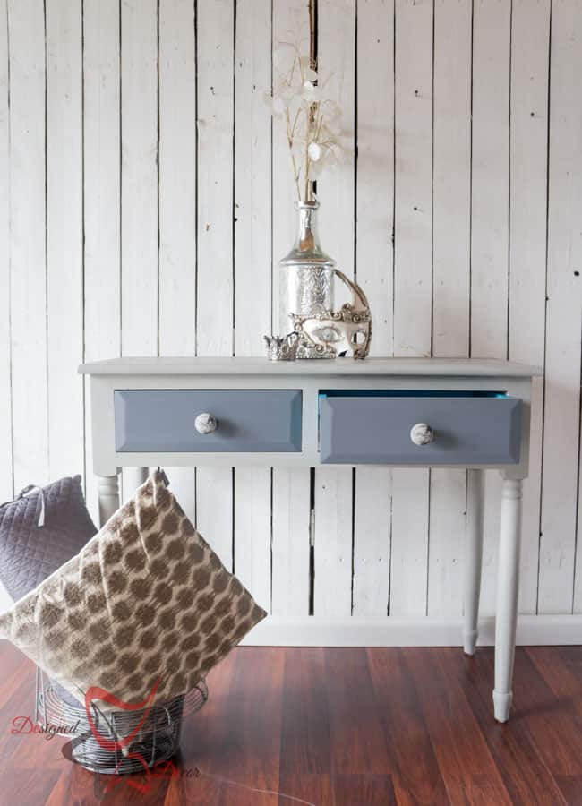 French-Stenciled-Entry-Table-Painted- Furniture (1 of 12)