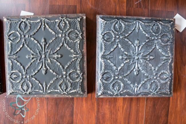 DIY-Knockoff-3 Panel-Tile-Wall-Decor-Wood-Frame (2 of 11)