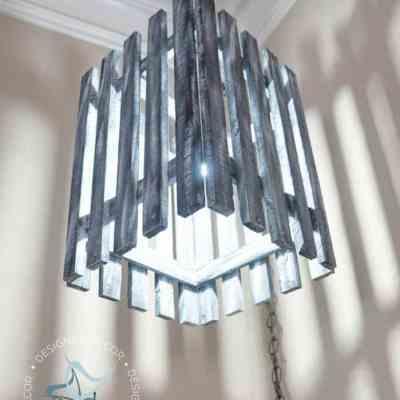 Repurposed Pallet Light!