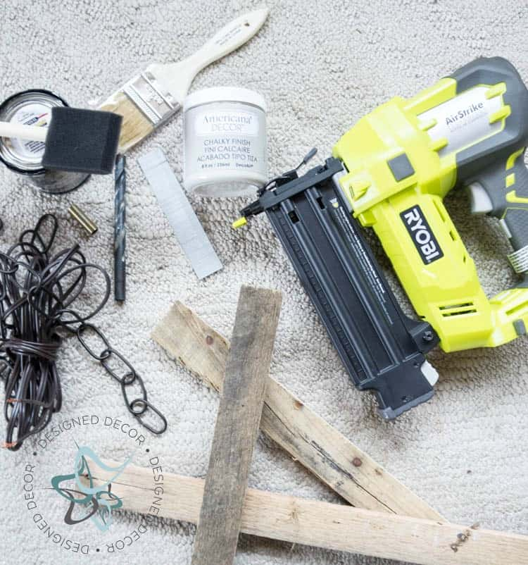 Pallet Hanging Light- Supply List - Photo 2