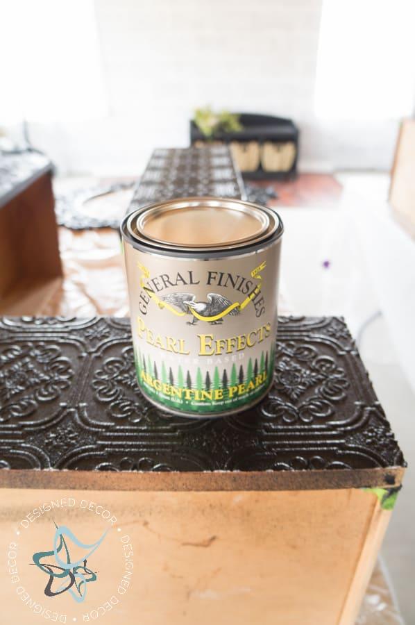 Textured-WallPaper-Dresser- GeneralFinishes- #Sponsor-Painted Furniture (10 of 20)