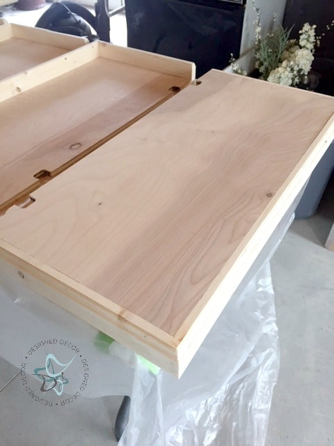 Cap Wood Shelves-ready for stain
