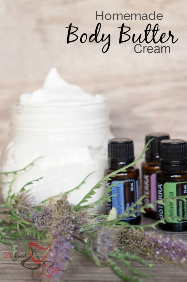 DIY-Essential Oil-Body Butter -doTerra-shave-www.designeddecor.com