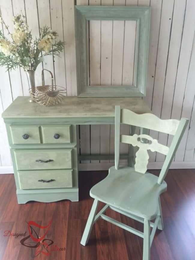 La Chaux-French Lime Paint-Printemps-Desk Makeover-6