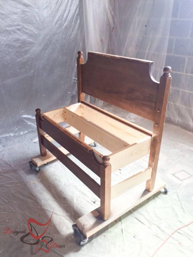 Repurposed-Headboard-Bench-Unicorn Spit- Maison Blanche (1 of 9)