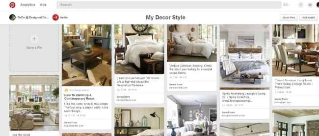my decor style pinterest board