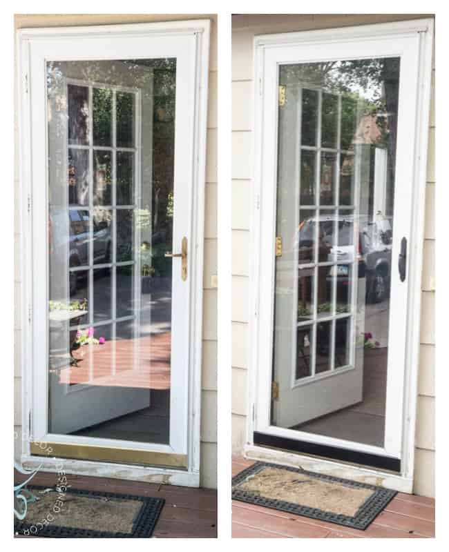 Schlage-door makeover