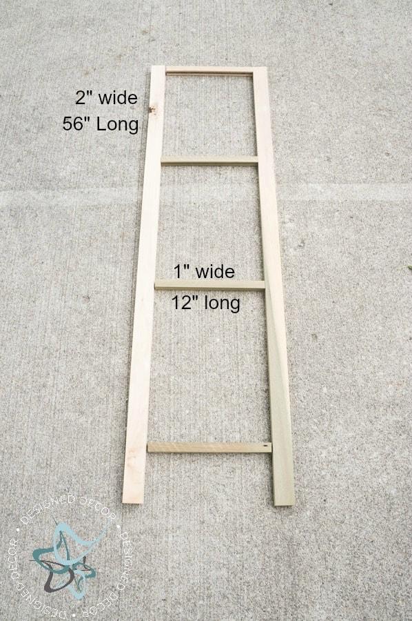DIY~ A Frame Plant Stand! ~- Designed Decor
