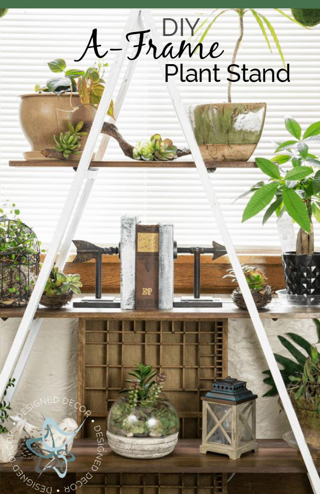 diy-a-frame-plant-stand