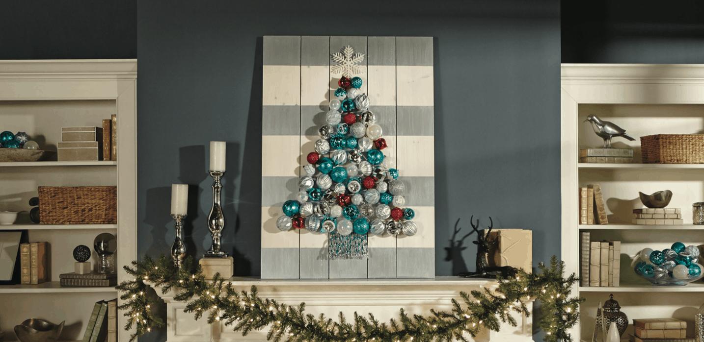 Holiday Ornament Display Home Depot DIH Workshop  Designed Decor
