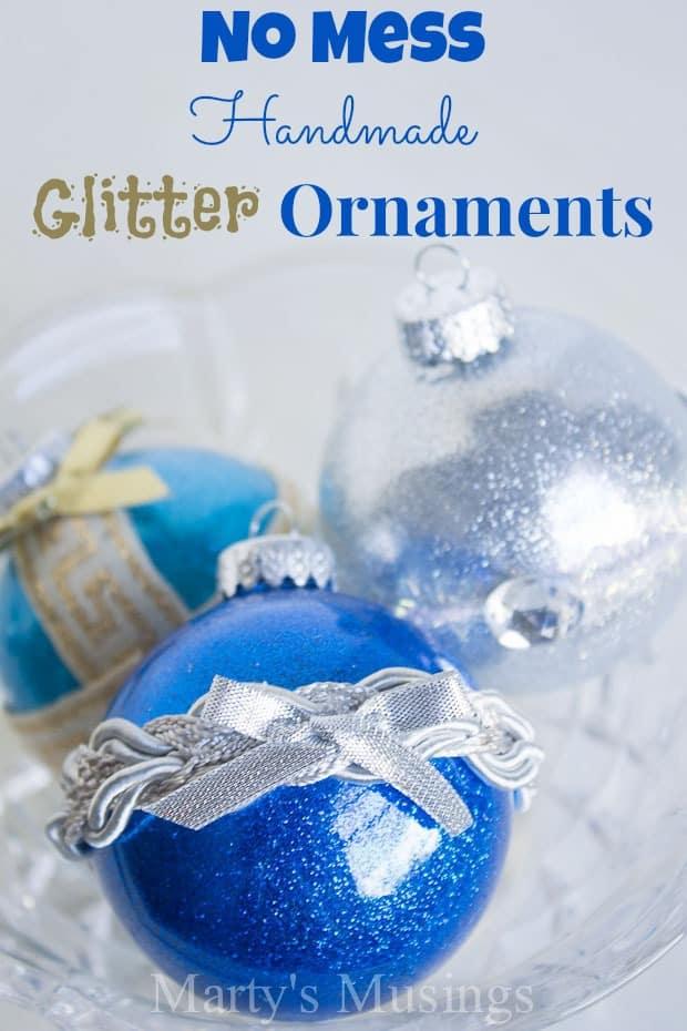 no-mess-handmade-glitter-ornaments