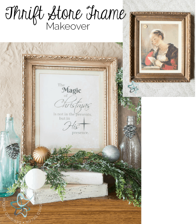 Thrift Store Frame Makeover - The Perfect Gift for all Occasions ...