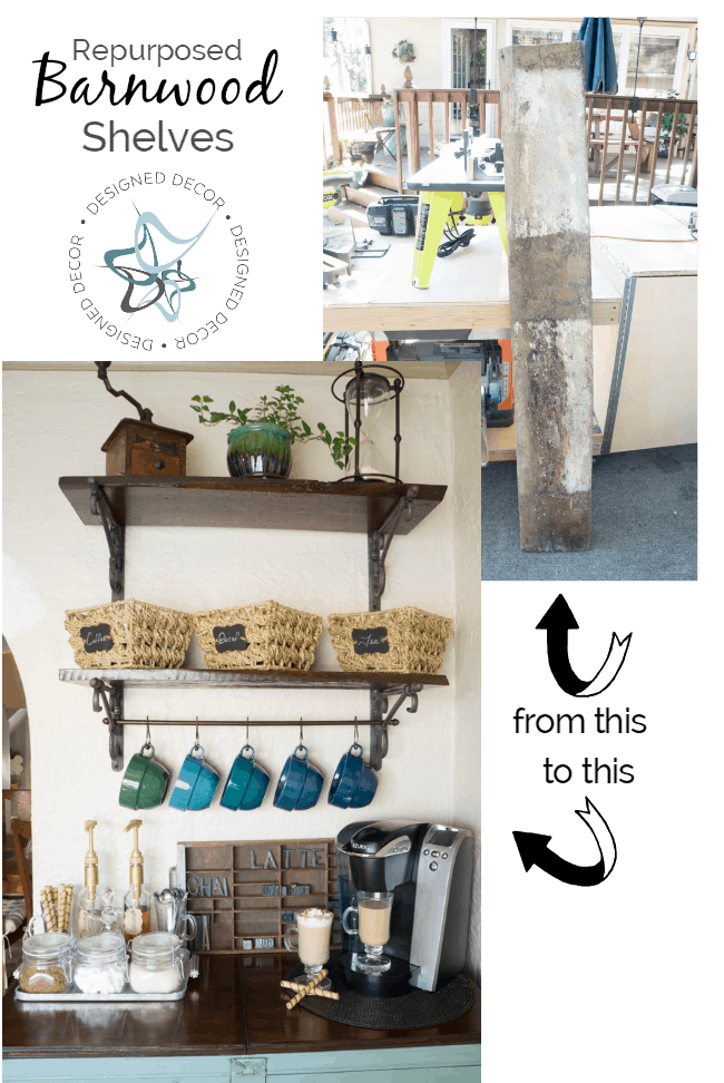 DIY-Repurposed-Barnwood-Shelves-Designed Decor
