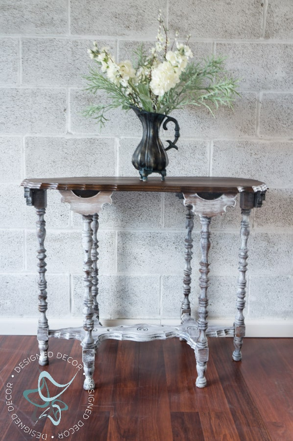 accent table makeovers! ~- designed decor