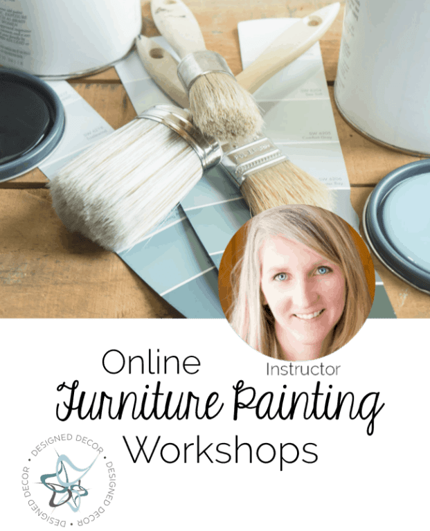 Online Furniture Painting Workshops!