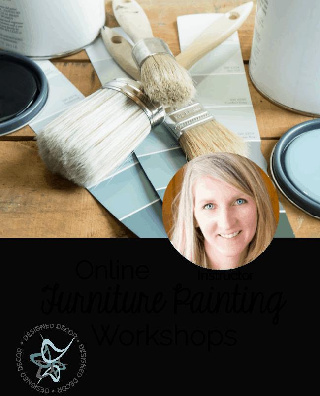 online furniture painting workshops