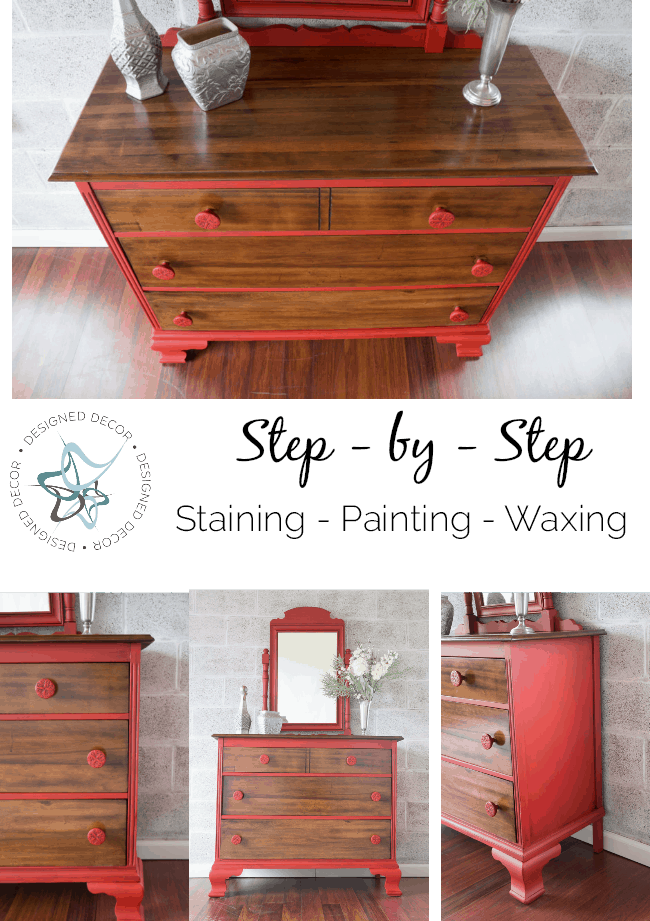 step-by-step- staining-painting-waxing