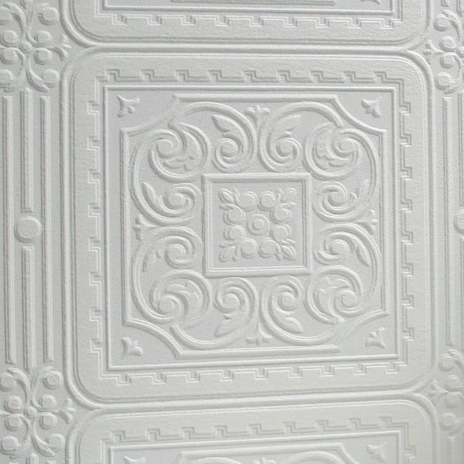 Paintable-Wallpaper- Tile Look- Wayfair.com