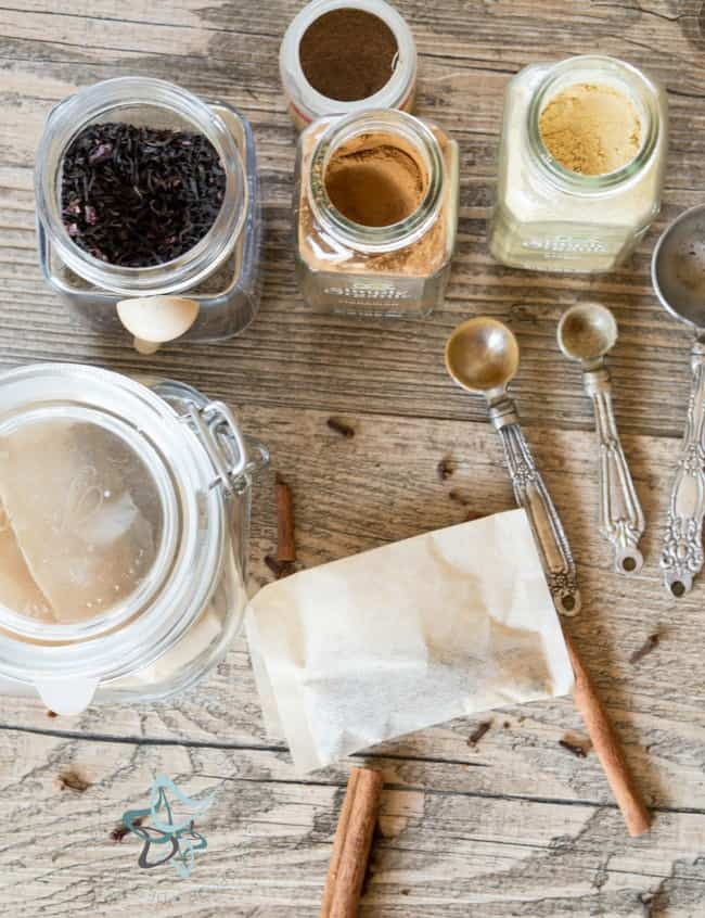 Homemade Chai Tea Tea Bags