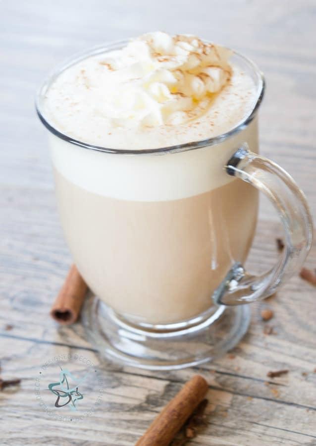 a creamy homemade chai tea latte recipe
