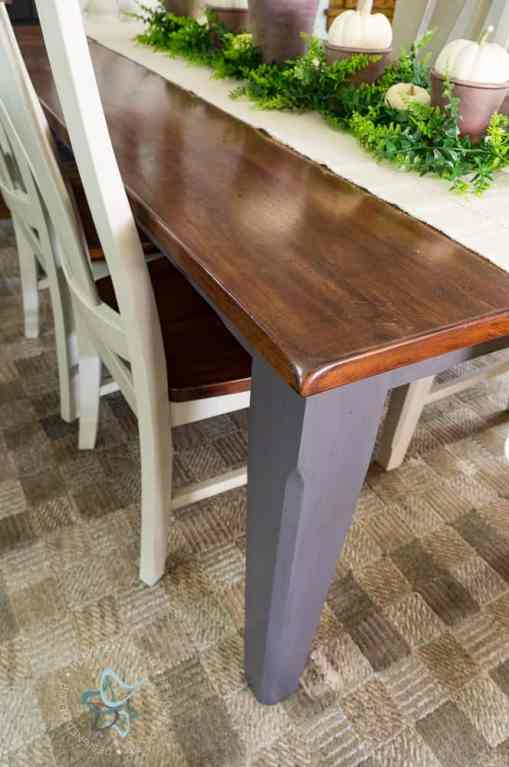 Dining Room Table Makeover!