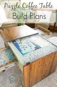 Puzzle Coffee Table ~- Designed Decor