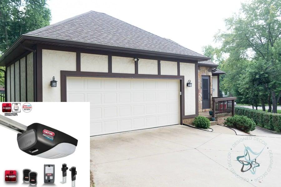 Genie Garage Door Opener With Smartphone App That Makes