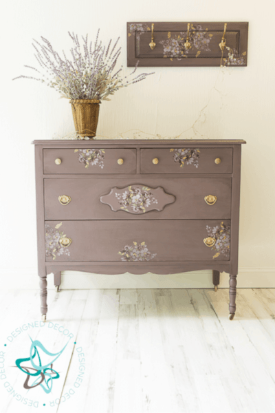 How to Easily make Beautiful Floral Printed Furniture