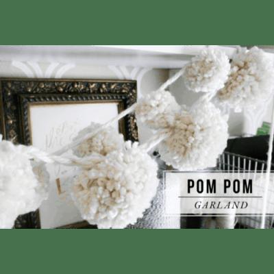 how-to-make-a-pom-pom-garland-jones design company