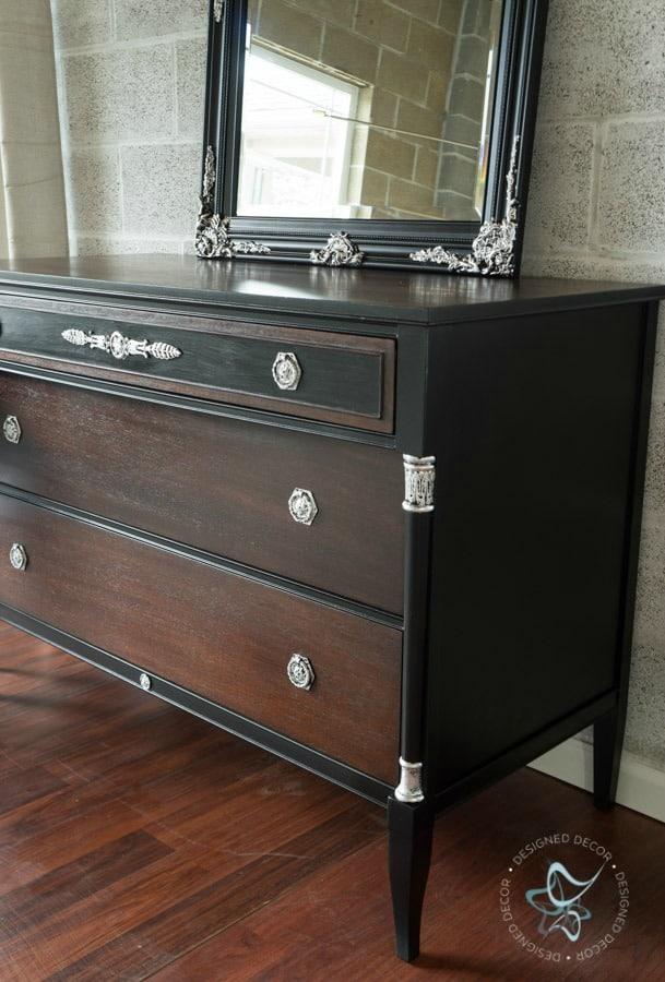 neoclassical dresser makeover