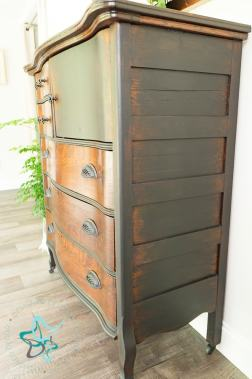 Fade to Wood-Dresser Makeover-Natural Distressed-5