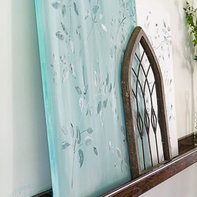 Make an easy DIY art canvas for painting