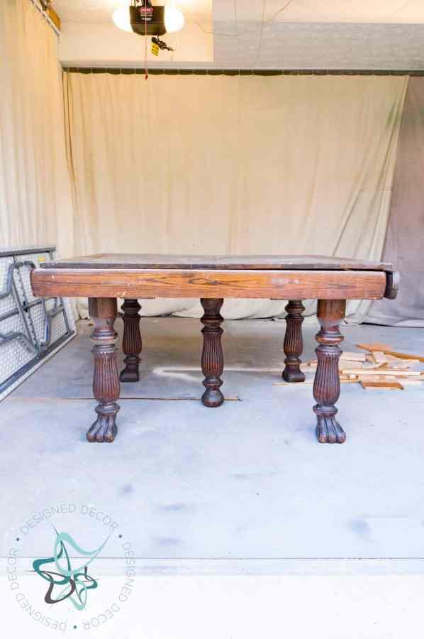 oak antique table