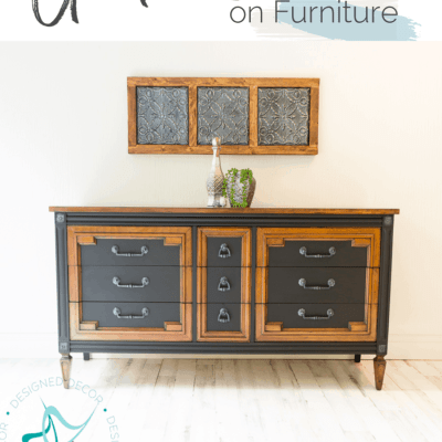 How to use gel stain on furniture without stripping