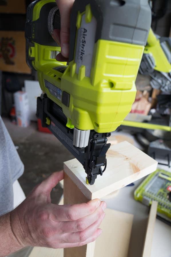 assembling wood together