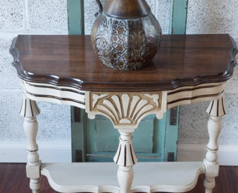 Half-Accent-Table-Wagner-Heat Gun- painted-furniture-3