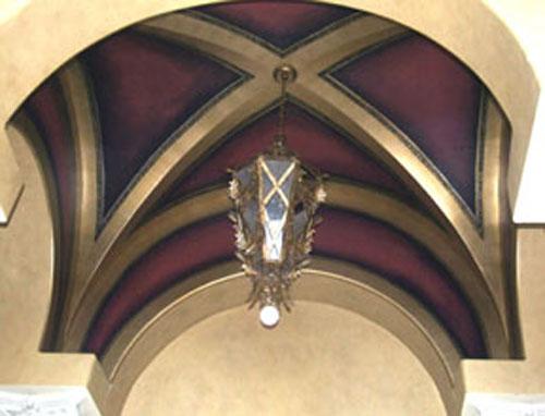 Pittman Groin Vault Ceiling
