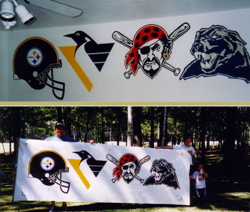 Pittsburgh sports fan