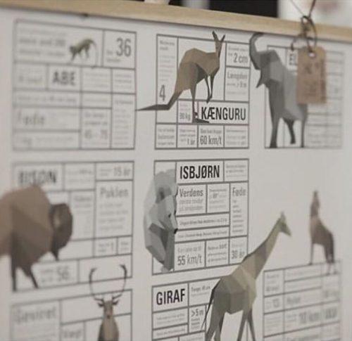 verdenskort, dyr