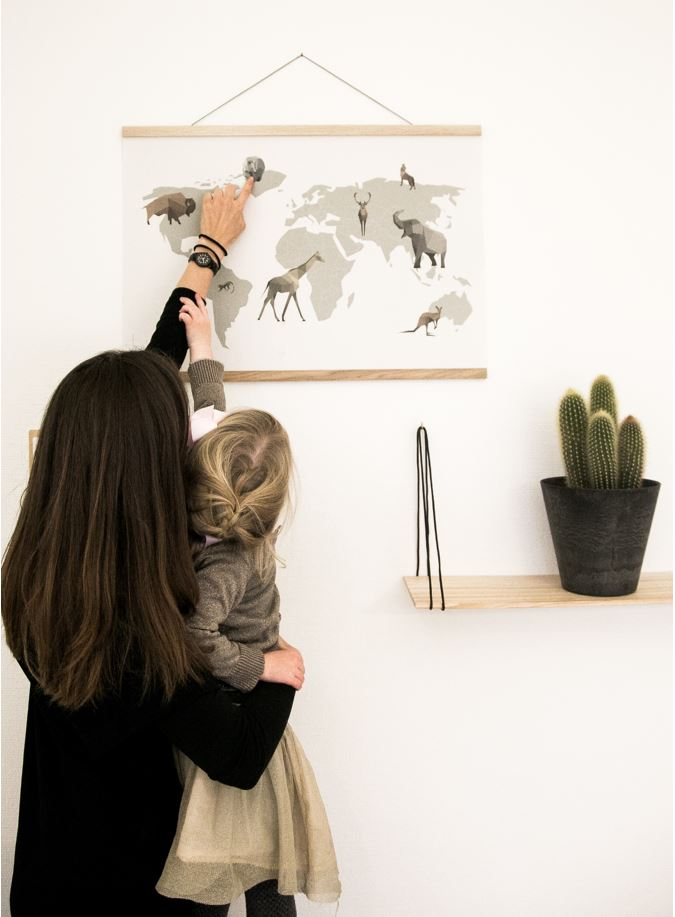 Sådan kan man bruge plakaten sammen med sit barn