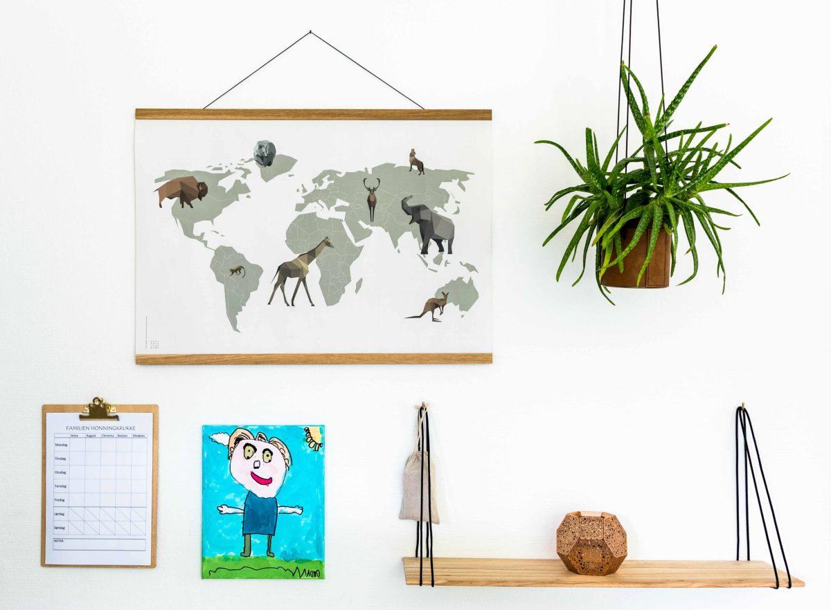 Verdenspakken, verdensplakat, læringspakke