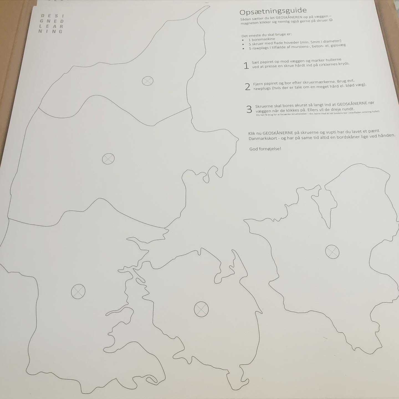 Geoskåner, Danmark, opsætningsguide