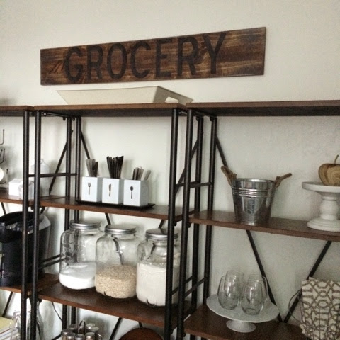 DIY-Grocery Sign