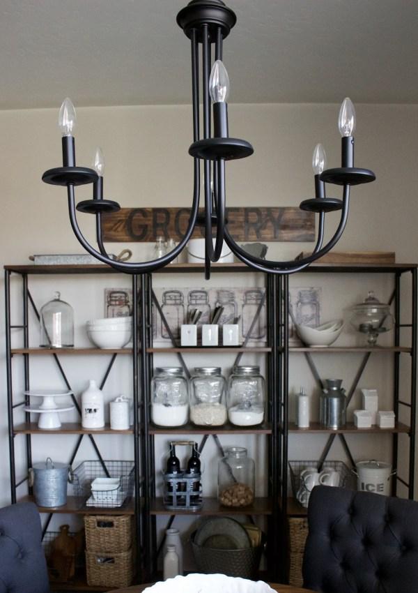 Dining Shelves