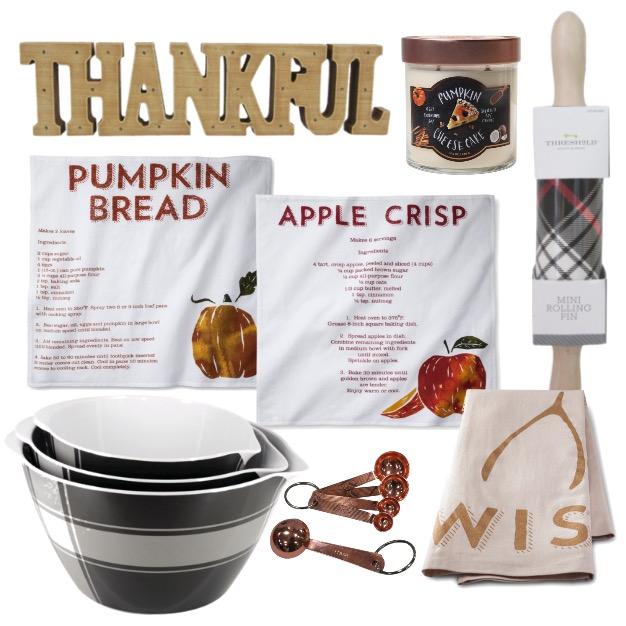 fall kitchen items at target