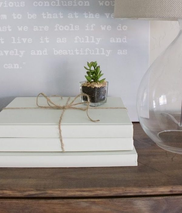 Chalk Painted Books